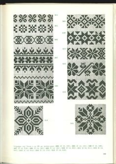 Cimdu raksti - Rokdarbu grāmatas un dažādas shēmas Fair Isle Knitting Patterns, Knitting Charts, Knitting Designs, Knitting Stitches, Motif Fair Isle, Fair Isle Chart, Fair Isle Pattern, Mittens Pattern, Knit Mittens