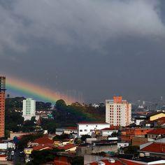 São Paulo - No fim do arco -iris by Eli K Hayasaka, via Flickr
