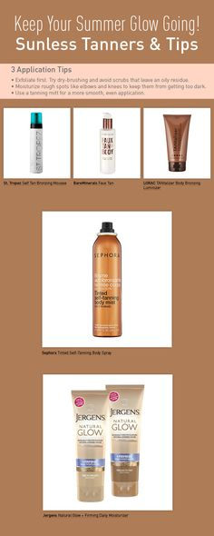 5 Sunless Tanners to Keep Your Summer Glow Going | Beautylish