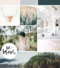 Earthy and feminine I like the combo, it's elegant , the colors are soft, it's airy. This feels like cheating cause it's a mood board but I love it!
