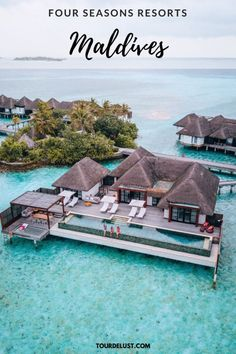 Looking for your next tropical vacation? Visit Four Seasons Resorts in Maldives for your honeymoon or next family vacation! Maldives Resort, Maldives Travel, Best Hotels In Maldives, Best Resorts, Hotels And Resorts, Luxury Hotels, Maldives Things To Do, Destination Voyage, Beaches In The World
