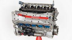 1997 Scuderia Ferrari Formula 1 730-horsepower, 40-valve, dry-sump, 75-degree V-10 - The Drive