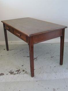 Abbess Two Drawer Library Table Desk