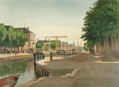 Groningen: Veendam, centrum van de Veenkolonien, 1904, Bueninck