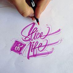 Inspiration hand lettering avec David Milan