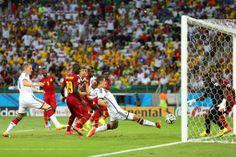 Doelpunt van Miroslav Klose tegen Ghana