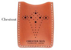 #45 Brogue Wallet (Colors Available) - Chester Mox