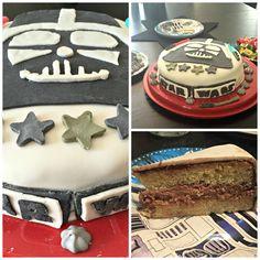 """Gâteau décor """"Star Wars"""" pour les 6 ans d'un futur Jedi !"""