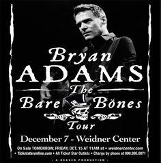 BRYAN ADAMS...This tour was AMAZING!!!  Just seen in Louisville !