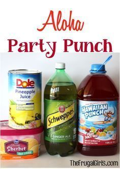 Aloha Party Punch Re