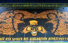 BVB Südtribüne Fanchoreographie