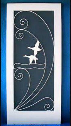 Vintage screen door inserts coastal home pinterest vintage screen door inserts custom screen door florida retro designs by la ti da retro design planetlyrics Image collections
