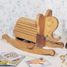 Buy Woodworking Project Paper Plan to Build Rocking Elephant, Plan No. 750 at Woodcraft.com