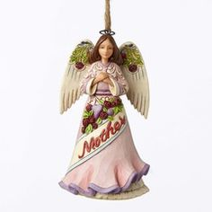 Mother Angel Ornament - 4053844 $20.00