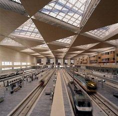 Estação Intermodal deZaragoza, 2000. Arquiteto Carlos Ferrater