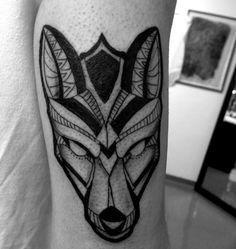fox tattoo by fernanda prado #tattoo #fernanda #prado #fernandaprado #fox