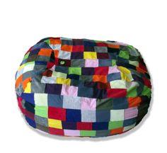 Patchwork Family-Size MultiColour3 Beanbag – TheBeanBag