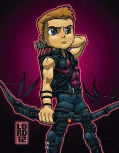Hawkeye (Cute Cartoon)