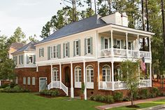 Dream House #4. I would extend the garage to make a larger carriage house.