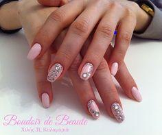 My pink princess! #nailart  #nails   #nailswag   #nailsalon   #kalamaria   #skg  #thessaloniki  #beautysalon   #beauty   #naildesign  #nailpolish  #boudoirdebeaute   #boudoir_de_beaute #manicure  #nails_greece   #nailsoftheday   #nailporn  #nailaddict  #pink