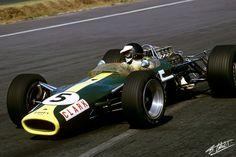 Clark 1967 Mexico Lotus 49