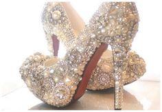 Fancy - Sparkly Cinderella Wedding Shoes