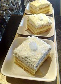 Τούρτα Καρύδας !!!! ~ ΜΑΓΕΙΡΙΚΗ ΚΑΙ ΣΥΝΤΑΓΕΣ 2 Greek Desserts, Greek Recipes, Greek Cake, Greek Pastries, Sweet Cakes, Confectionery, Chocolate Cake, Sweet Tooth, Cheesecake