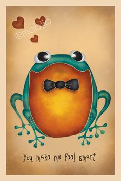 so cute ~ Love frogs postcards with envelopes set of 7 by mobijo on Etsy.
