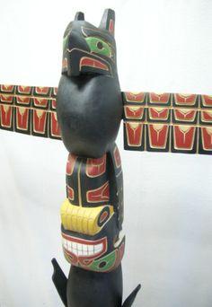 Native American Indian Totem Poles