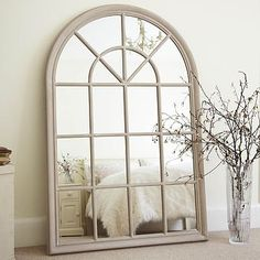 Large Arched Window Mirror by Primrose & Plum £299$583.70€390.76$544.80 ...