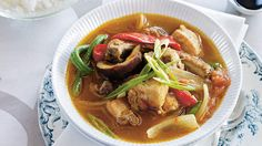 Pork Sinigang (Sinigang Na Baboy) (Filipino Recipe) : SBS Food Sinigang Na Baboy Recipe, Pork Sinigang, Restaurant Soup Recipe, Delicious Restaurant, Pork Rib Recipes, Chicken Recipes, Pork Dishes, Dishes Recipes