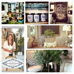 Creative Country Mom: My Trip To Chandelier Barn Market | Painted ...