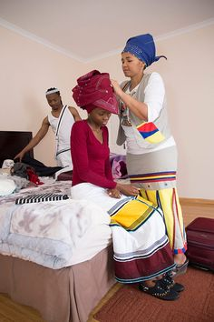 Traditional Xhosa Wedding In Eastern Cape Xhosa Attire, African Attire, African Wear, African Dress, African Traditional Wear, South African Weddings, Traditional Weddings, Latest African Fashion Dresses, African Prints
