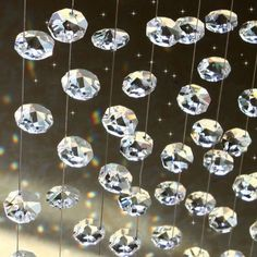 K9 Crystal Beaded Curtain for home decoration and room divider (20 strands/set) BSN282 $88.00
