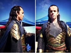 """Having agreed to play Elrond, I realised how much had to be worked out about this character: the idea of portraying someone who is immortal, for one thing; plus the fact he is noble, wise, powerful, good - and beautiful! I began to think that he was altogether impossible to play!"" Hugo Weaving"