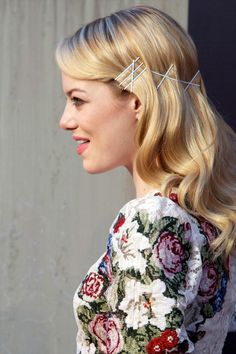 'The Amazing Spider-Man' Madrid Premiere. I love this hair style