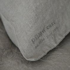 shop fog linen — Linen Pillow Cases: Natural