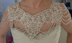 Paris Crystal Bolero - Wedding Dress Bolero, Wedding Dress Accessories