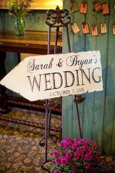 Wedding sign bit.ly/A6iD4Q