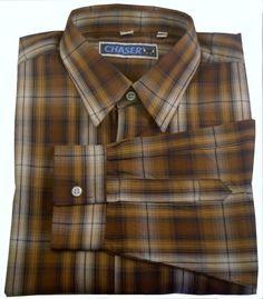 Tommy Hilfiger Mens 100% Cotton Tan Micro Striped Button Down ...
