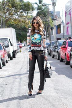 Black Pants - Thassia Naves