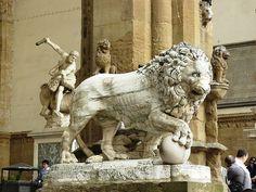 León, Arte Romano II dc. Logia de la Señoria. Florencia