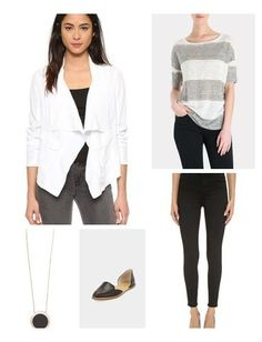 Here is a comfortable and casual look that's also put together.