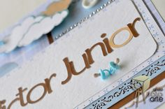 ateliêfotoarte: Porta maternidade do Victor Junior  #Scrapbook