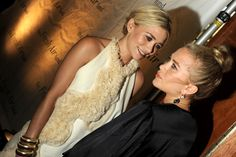 Ashley and Mary-Kate Olsen at Fresh Air Fund Benefit