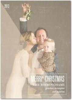 Bashful Blur - Christmas Cards in White or Black | Petite Alma