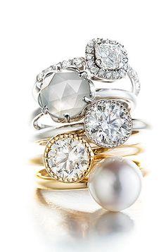 Tower of Rings# Tillander Jewerly, Bracelet Watch, Gemstone Rings, Gemstones, Watches, Bracelets, Accessories, Tower, Design