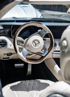 S-Class Cabriolet Interior