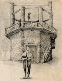 Gdy pewien Stanisław vel Iwanek został oskarżony o morderstwo na podlubelskim chłopie, sąd szybko skazał go na karę śmierci. Straceńca wyprowadzono na plac kaźni znajdujący się w okolicy kościoła OO. Bernardynów. Kat uderzył go w kark mieczem aż 3 razy i … głowa nie odpadła, a na jego ciele pojawiły się jedynie niewielkie otarcia. Znajomi mieszczanie i cała gawiedź miejska stanęli w obronie Stanisława, widząc w zdarzeniu rękę Boga chroniącą niewinnego. Przerażony kat uciekł. #history #Lublin