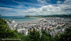 Llandudno Bay view from Great Orme